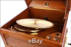 Very Rare MINT French HMV Gramophone Phonograph Mod. 450 Lumiere. 1923