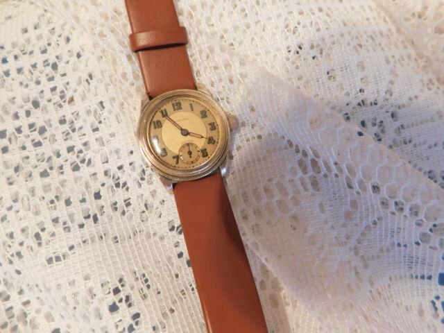 Very Rare Men/s Vintage Unicorn Brevet (rolex) Military Watch. Serviced. Mint