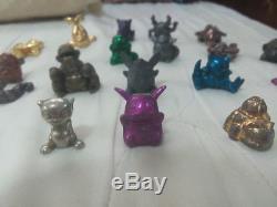 Very Rare Mini metal Pokemon figures lot of 19