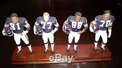 Very Rare Minnesota Vikings Purple People Eaters Danbury Mint