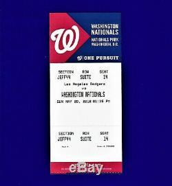 Very Rare Mint Juan Soto Debut Ticket May 20 2018 5/20/18 Washington Nationals