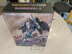 Very Rare, Mint X-Transbots MX-11 Andras Transformer Masterpiece Scourge