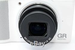Very Rare! Near MINTRicoh GR IV White 10.4MP Digital Camera from Japan #1554