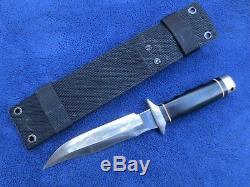 Very Rare Original Seki Japan Sog S2 Trident Knife And Sheath Mint Condition