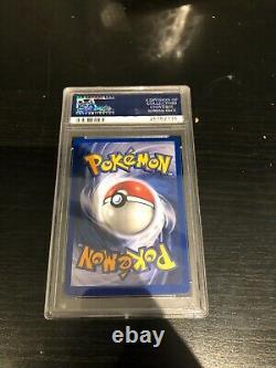 Very Rare PSA 9 1999 Pokemon Base Set Unlimited Mewtwo Holo 10/102