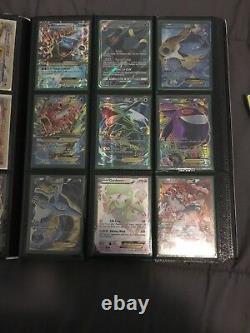 Very Rare Pokemon Lot Of 70 With Binder