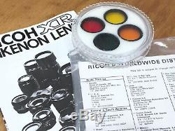 Very Rare Rikenon XR 600mm f8 Reflex Mirror Lens Pentax K Mount Mint Condition