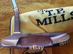 Very Rare Tp Mills Mizuno Copper Proto 1025 Putter 35 Mint