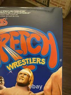 Very Rare WWF LJN Wrestling Superstars Stretch Wrestlers Hulk Hogan 1987 Mint