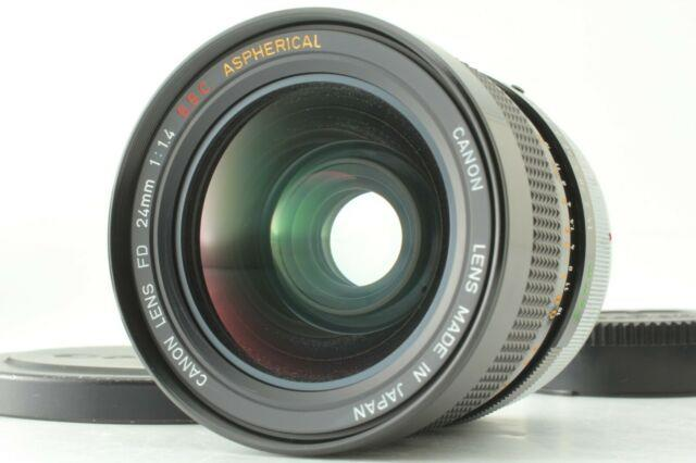 Veryrarenear Mint Canon Fd 24mm F1.4 S. S. C Aspherical Lens From Japan #635