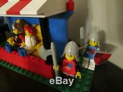 Vintage (1970s) LEGO Yellow Castle 375 + Knight's Tournament 383 Very Rare Lot