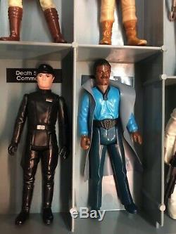 Vintage 1977-85 Kenner Star Wars Lot 35 Figures, RARE FIND VERY COOL