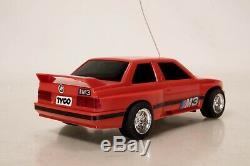 Vintage 1988 Tyco BMW M3 E30 RC Car With Box VERY RARE Radio Control Near Mint