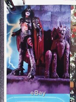 Vintage KISS FANTASIES Poster 1980 AUCOIN VERY RARE NEAR MINT