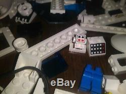 Vintage Lego Futuron Monorail space set 6990, 6991 massive parts lot. Very rare