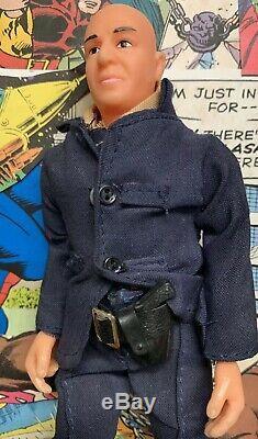 Vintage Mego Kojak 1975 Original Figure Mint / Gun / Very Rare