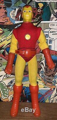 Vintage Mego ORIGINAL IRON MAN Figure WGSH Very Rare 1974 Mint Avengers Marvel