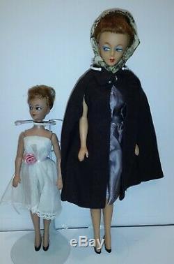 Vintage Original Japan Bild Lilli Barbie Clone Genevieve and Liza VERY RARE set
