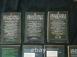 Vintage Pan Book of Horror Stories Lot of 25 Incl. 1-17 Very Rare! Herbert van