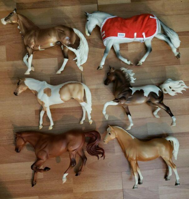 Vtg Breyer Horse Toys Pre-owned Lot Of 6 Very Rare