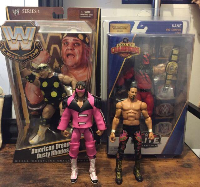 Wwe Wwf Awa Mattel Elite Lot! Series 1&5, Hall Of Champions Very Rare