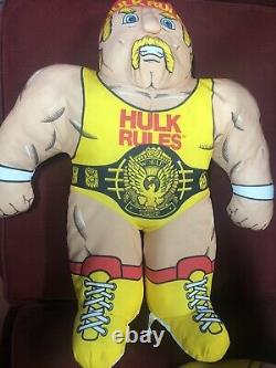 Wwf Wwe Very Rare Buddies Lot Hulk Hogan, Macho Man, And Ultimate Warrior