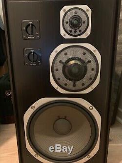 Yamaha NS-1000 Ebony Vintage Speakers Mint Condition Very Rare