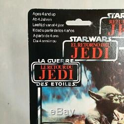 Yoda Trilogo Vintage Star Wars Mint And Carded Very Rare