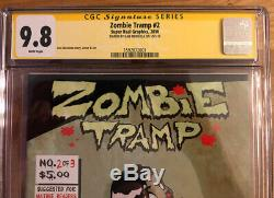 Zombie Tramp Vol 1 lot 1,2 CGC 9.8 Very Hard to Find RARE! HOLY GRAIL! SIGNED